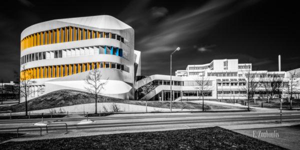 Das Virtual Engineering Gebäude des Fraunhofer Instituts in Stuttgart Vaihingen.