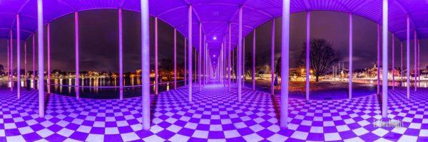 360 Grad Panorama Bild an der Wandelhalle in Böblingen