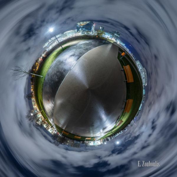 Planet Spreebogenpark Berlin - Der Berliner Spreebogenpark als kleiner Planet