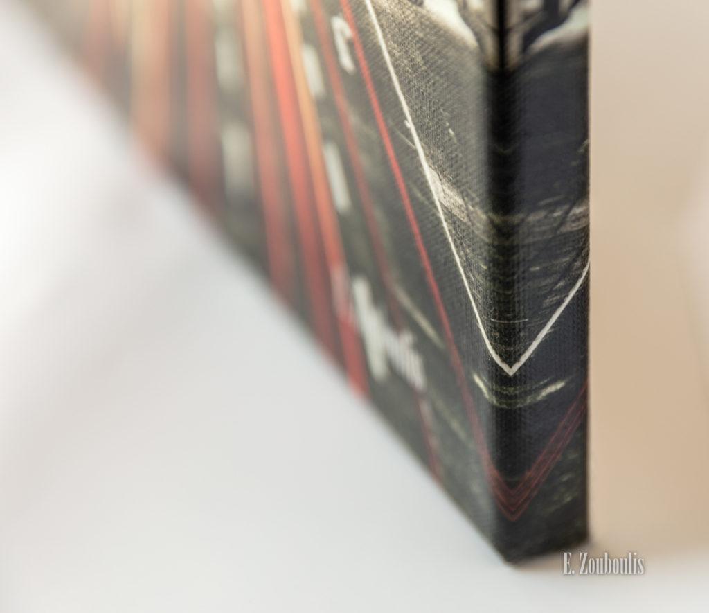 Wandbilder auf Leinwand gespiegelter Rand - Hochwertige Wandbilder