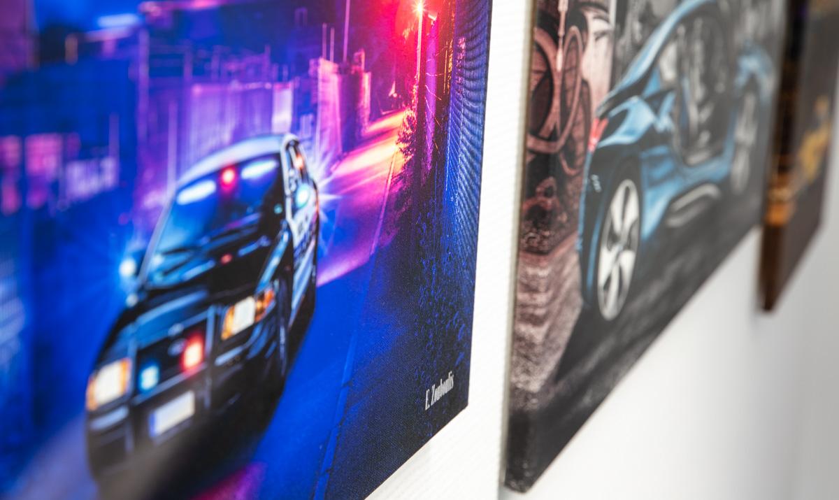 Auto Bilder fürs Büro bestellen von Hochwertige Wandbilder
